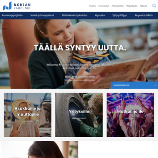Etusivu - Nokian kaupunki