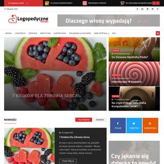Medycyna estetyczna - Zdrowie - Uroda - Logopedia - Super Foods