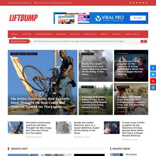 Home Page - LIFT BUMP