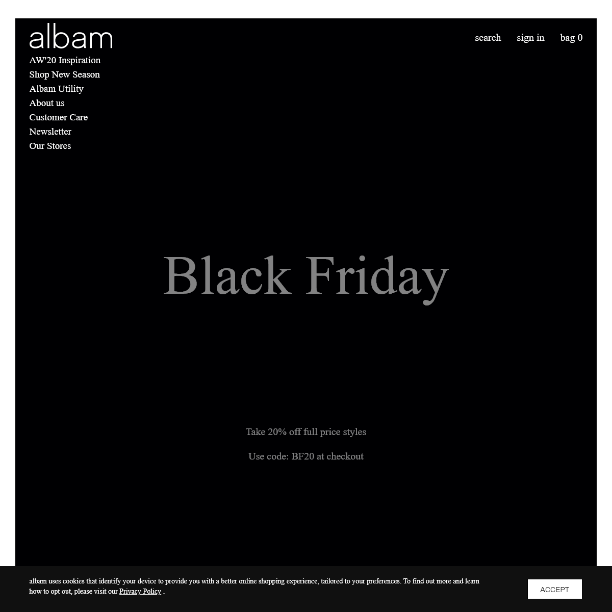 albam Clothing - Official Online Store