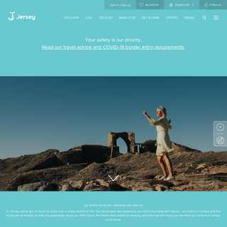 Visit Jersey - Official website - Come to the channel islands for a Break