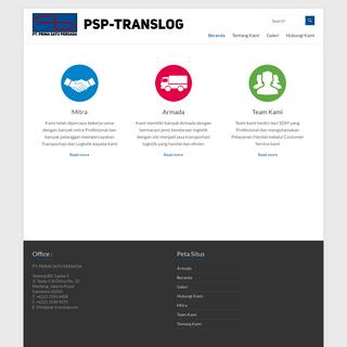 PSP Translog – PT. PRIMA SATU PERSADA