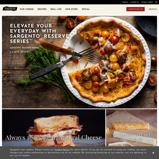 Sargento - Home of Real Cheese People®