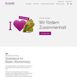 Staatsbank für Baden-Württemberg - L-Bank