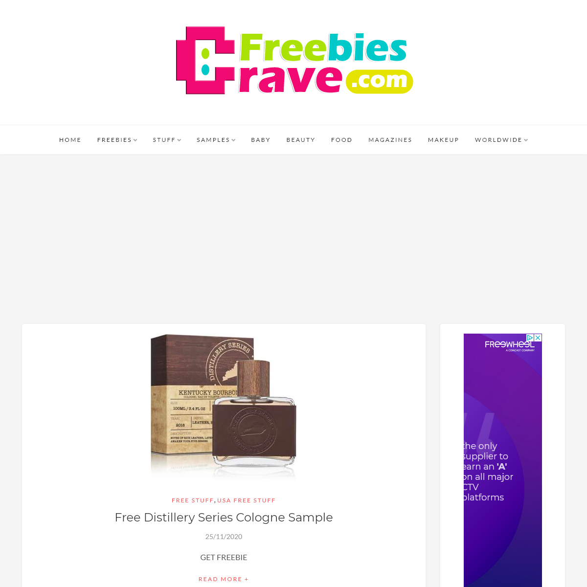 Crave Freebies - Free Stuff, Free Samples, Freebies
