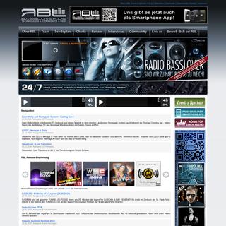 RBL - Radio Basslover - Startseite