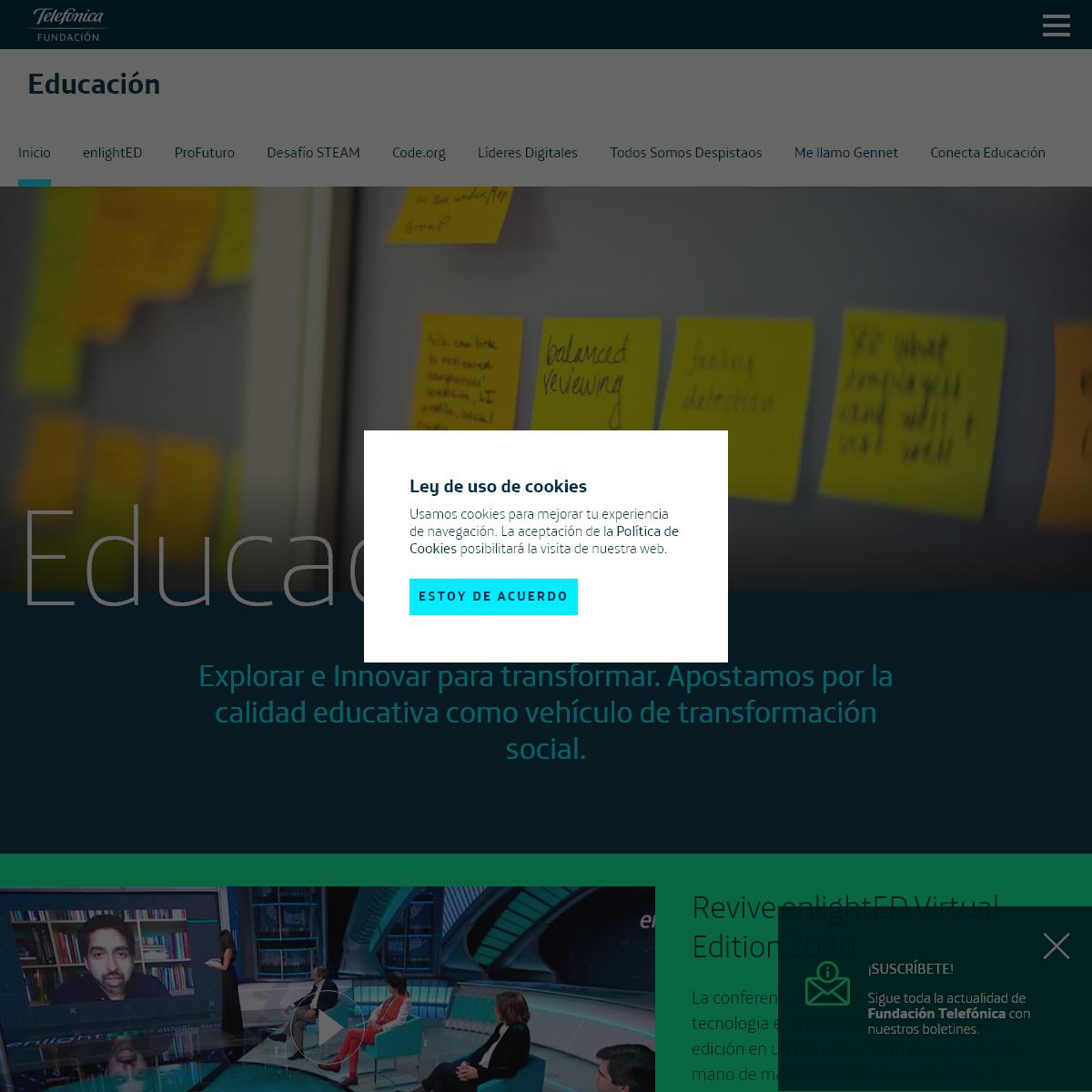 Educación - Fundación Telefónica España