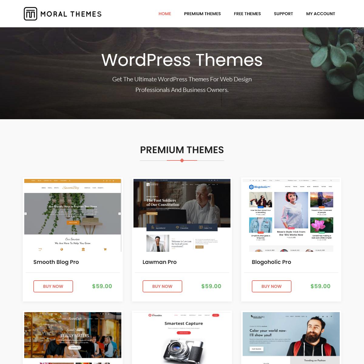 Moral Themes - WordPress Free and Premium Themes