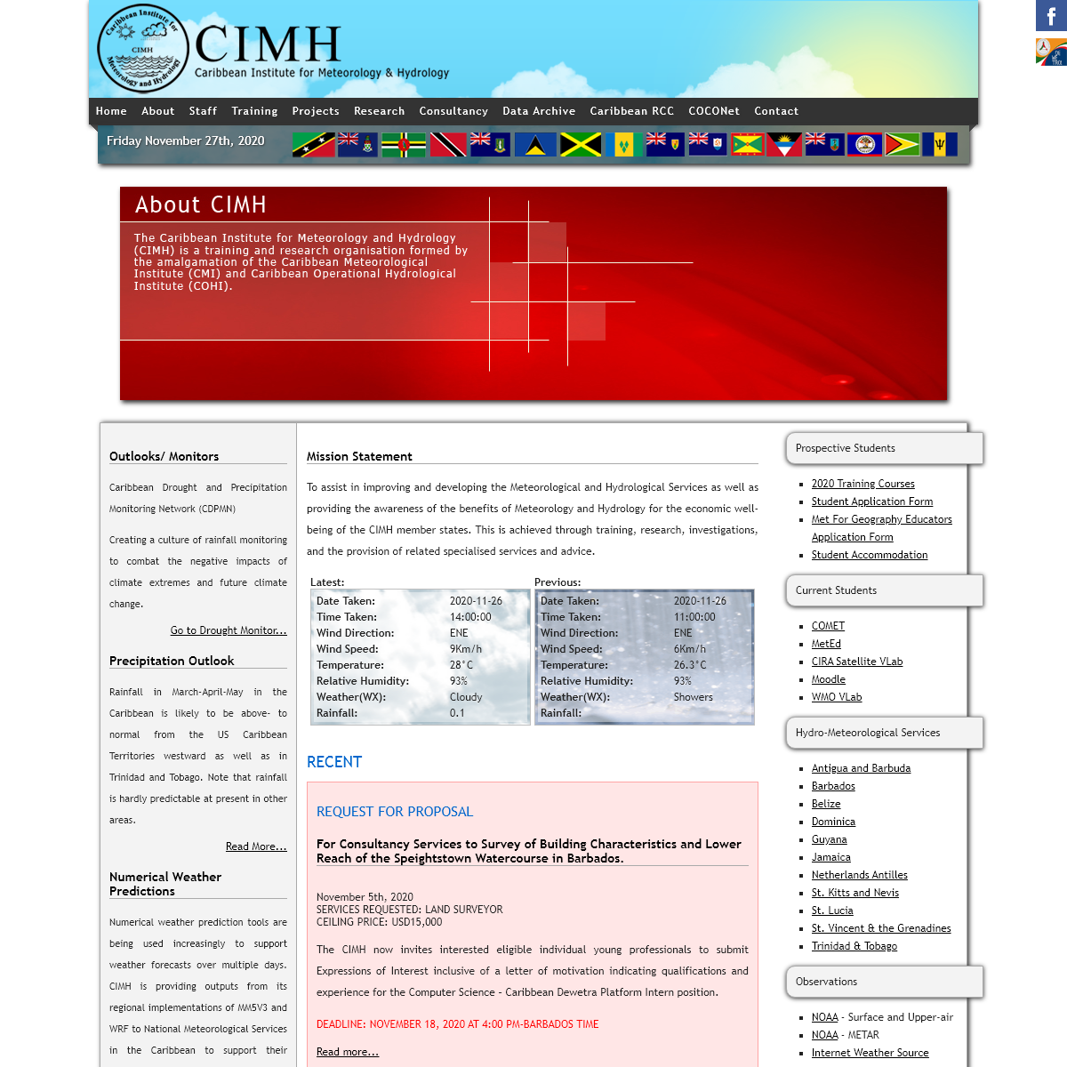 CIMH - Caribbean Institute for Meteorology & Hydrology