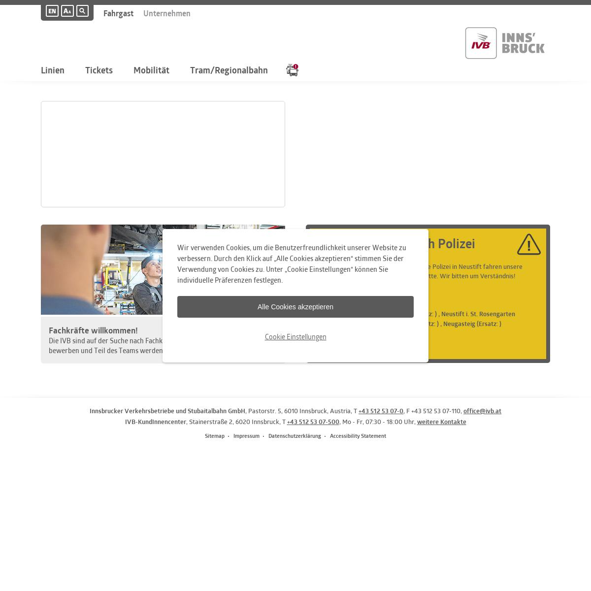 IVB - Innsbrucker Verkehrsbetriebe und Stubaitalbahn GmbH