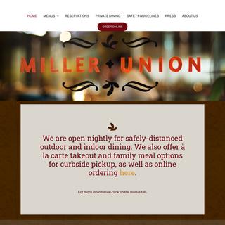 Miller Union – Atlanta