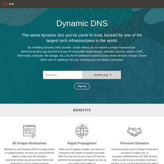 A Leading Dynamic DNS Provider - Dyn