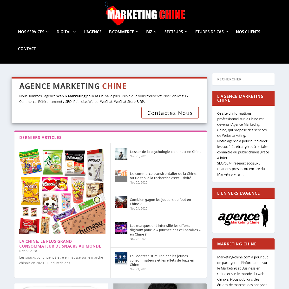 Marketing Chine - L`Agence de Réference en Chine