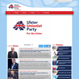 Home - Ulster Unionist Party