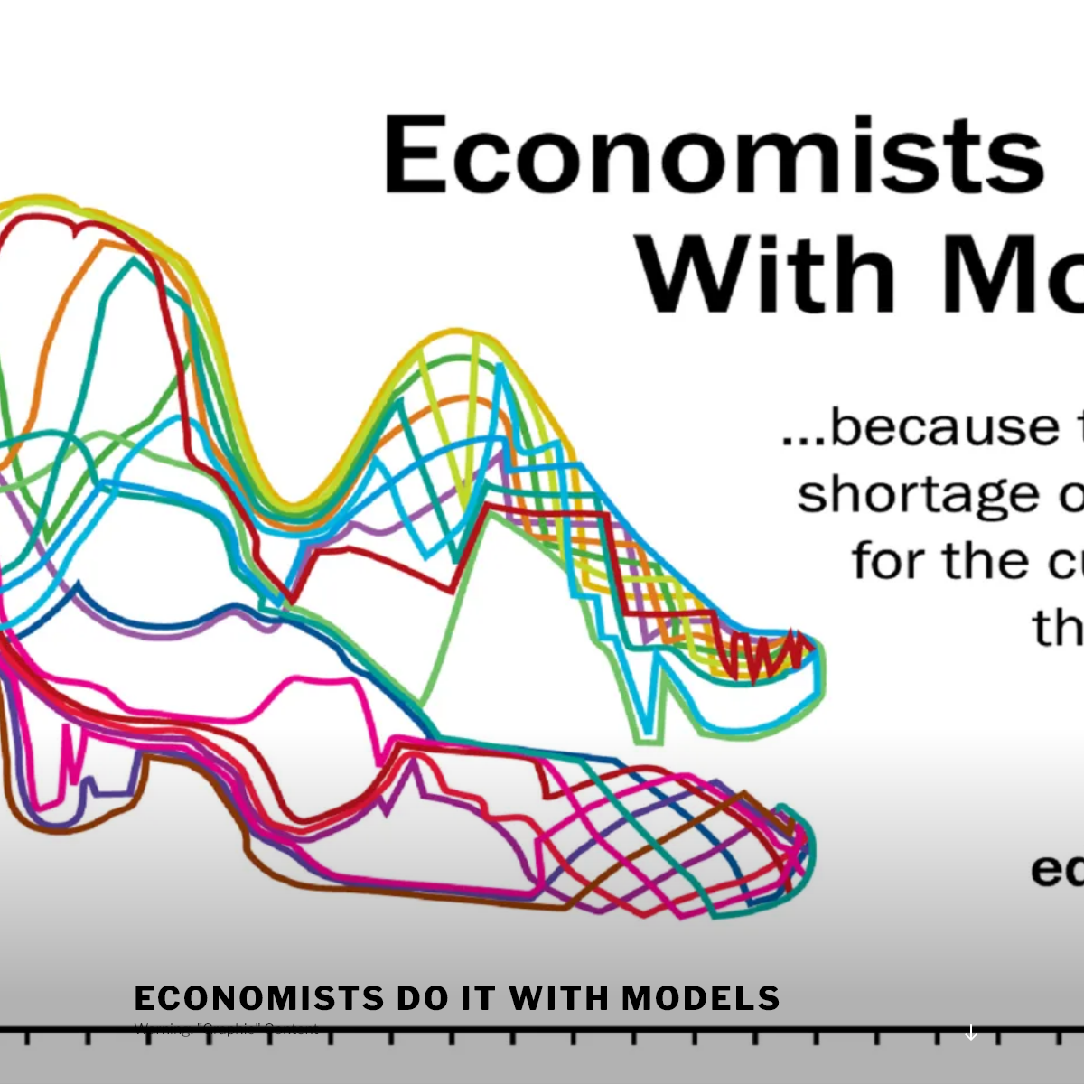 Economists Do It With Models – Warning- -Graphic- Content