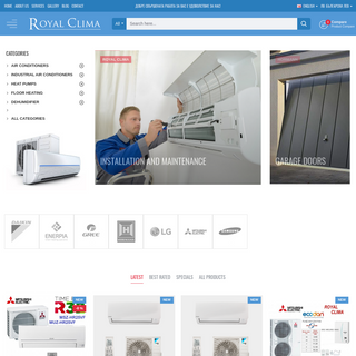 Air Conditioners Burgas - Royal Clima Ltd