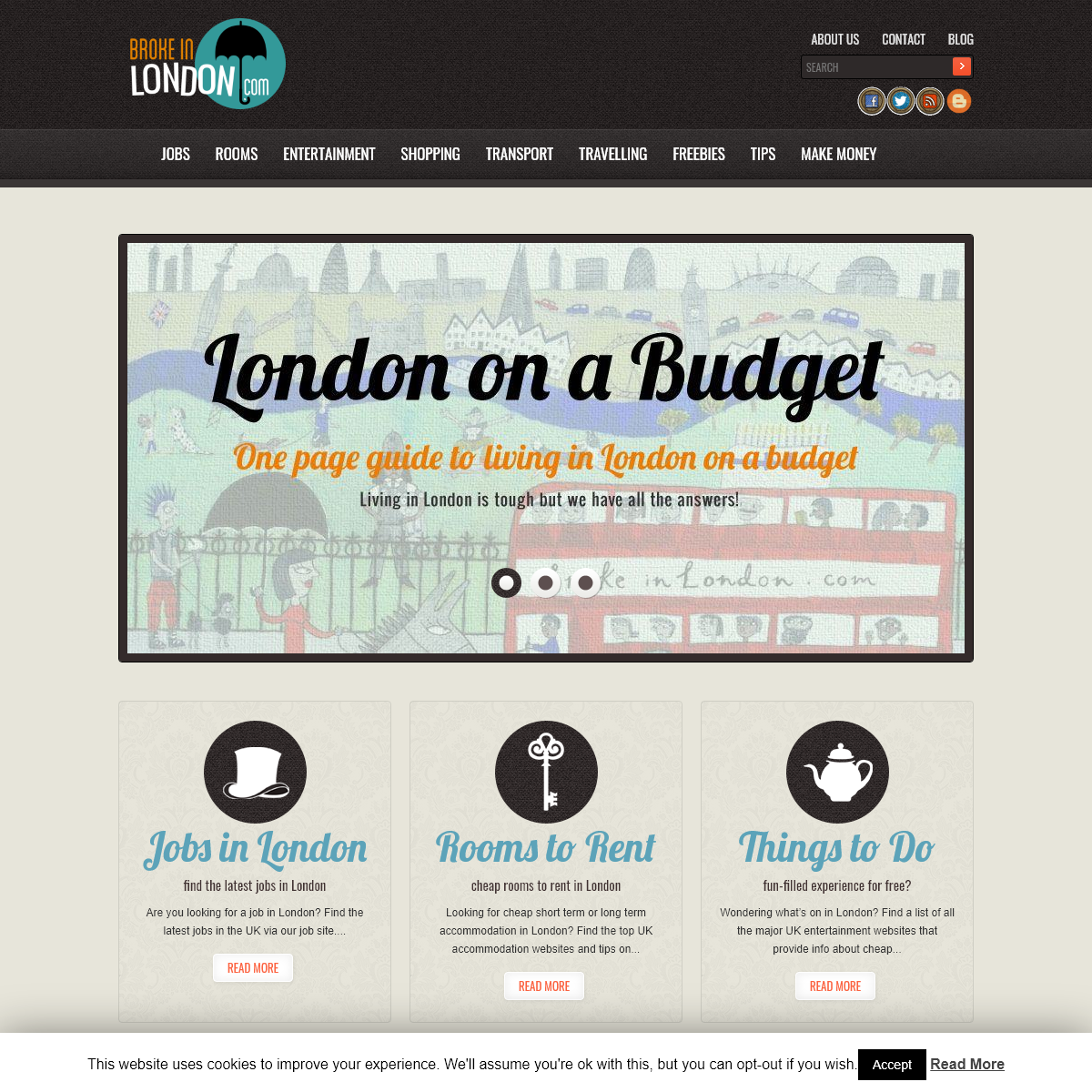 Jobs,Rooms and Links for a Budget Life in London - Broke in London