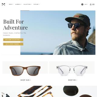 The Original Wood Sunglasses - Shwood Eyewear