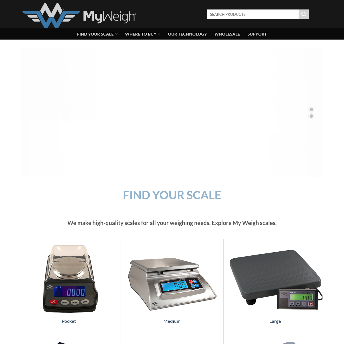 My Weigh - The best digital scales on earth.