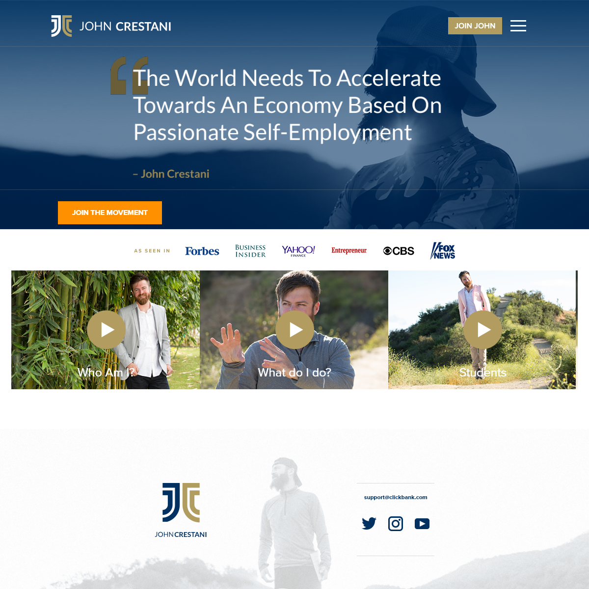 John Crestani - Internet Jetset - Affiliate Marketer - Digital Nomad