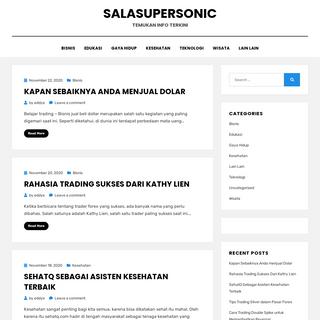 Salasupersonic – Temukan Info Terkini
