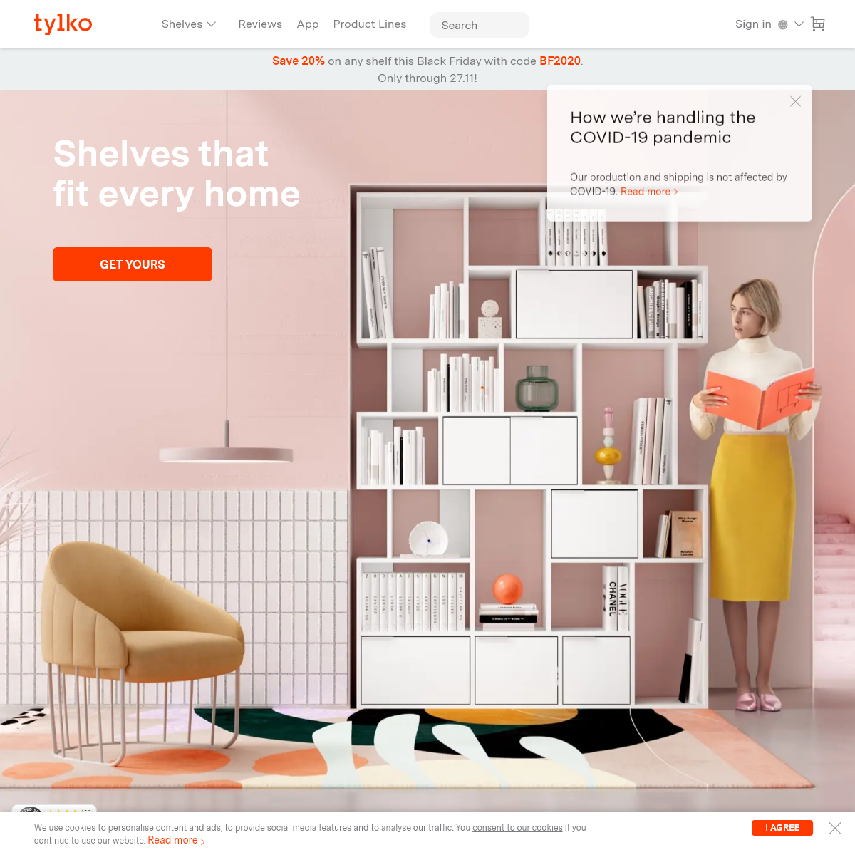 Tylko- The Perfect Shelf for Your Home