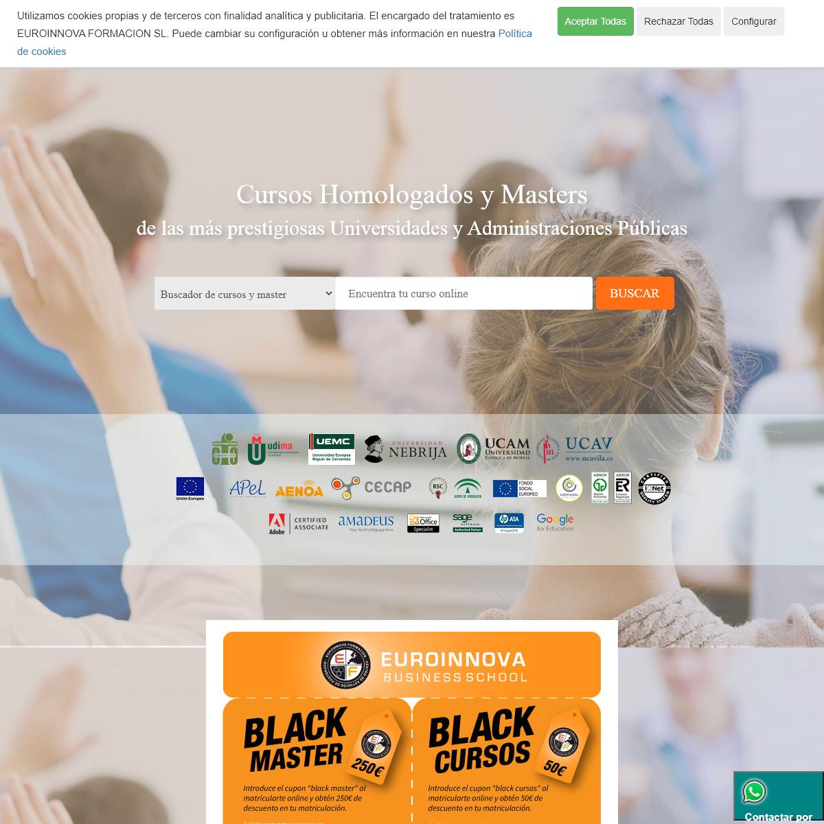 Cursos online homologados - web oficial euroinnova business
