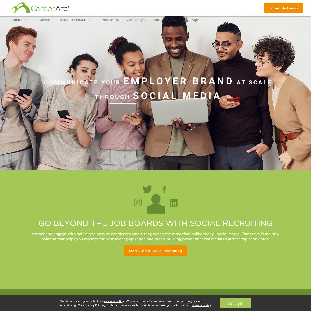Social Recruiting Software - CareerArc