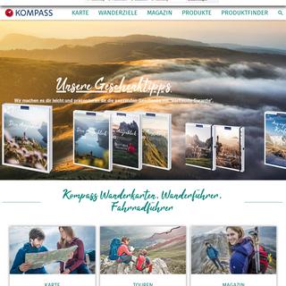 KOMPASS Wanderkarten, Wanderführer und Fahrradkarten