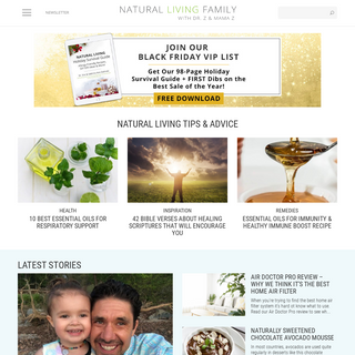 Natural Living Family Tips & Trusted Health Advice