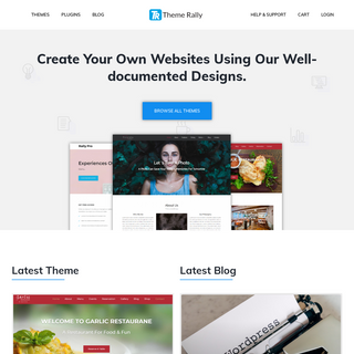 Theme Rally - WordPress Theme and Elementor Template by Theme Rally