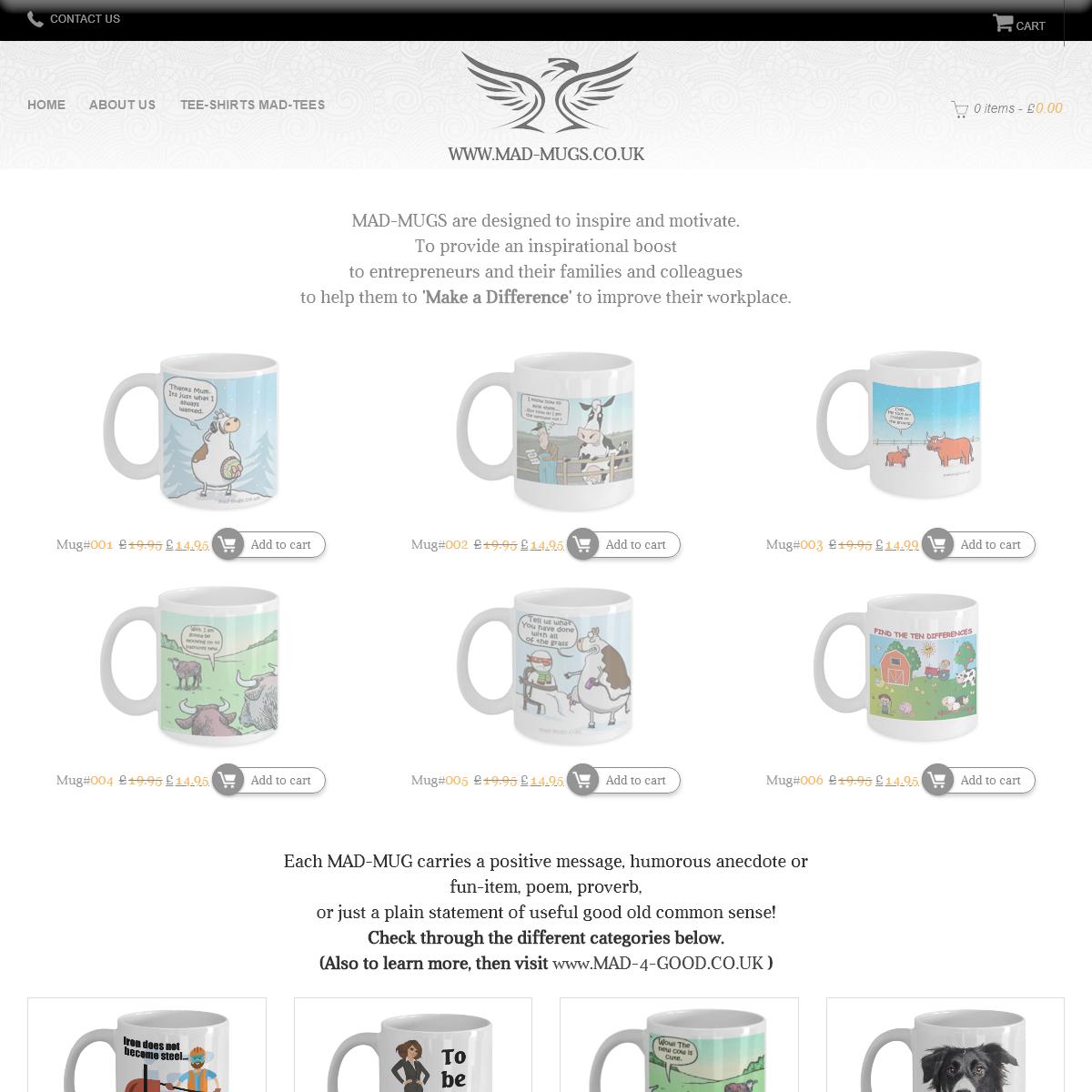 Mad Mugs Unique deisgns - Motivational Mugs - Best Mugs