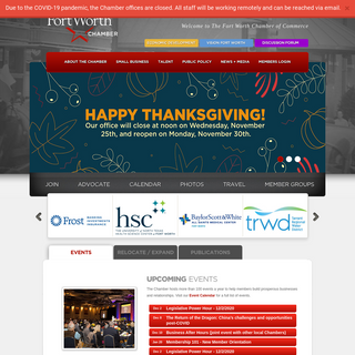 Fort Worth Chamber - Chamber of Commerce