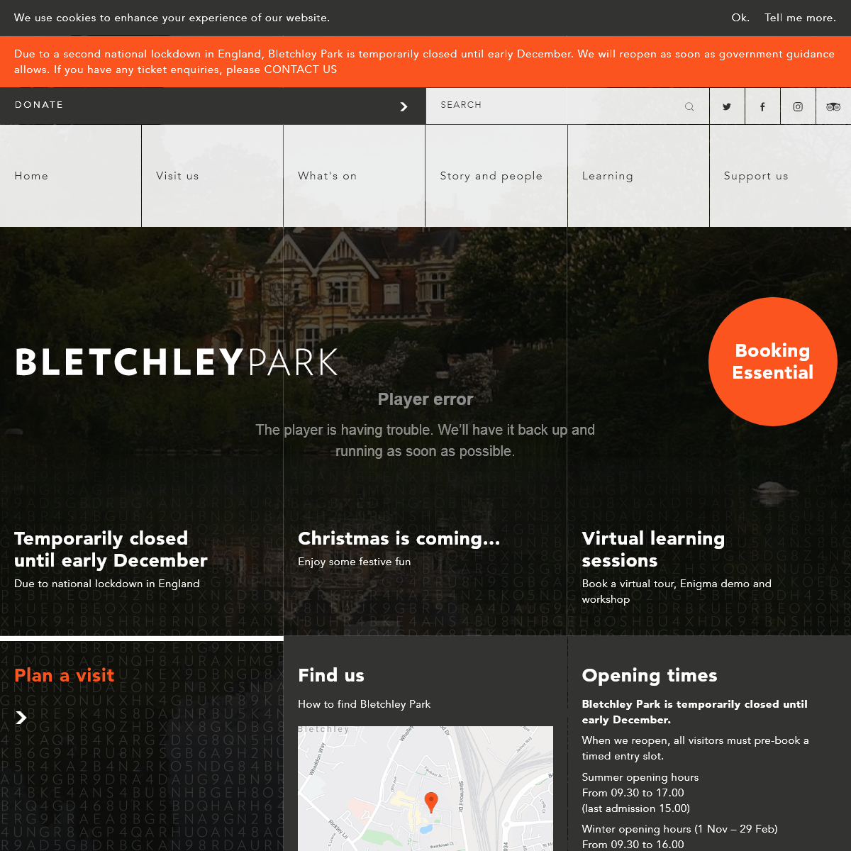 Bletchley Park - Home