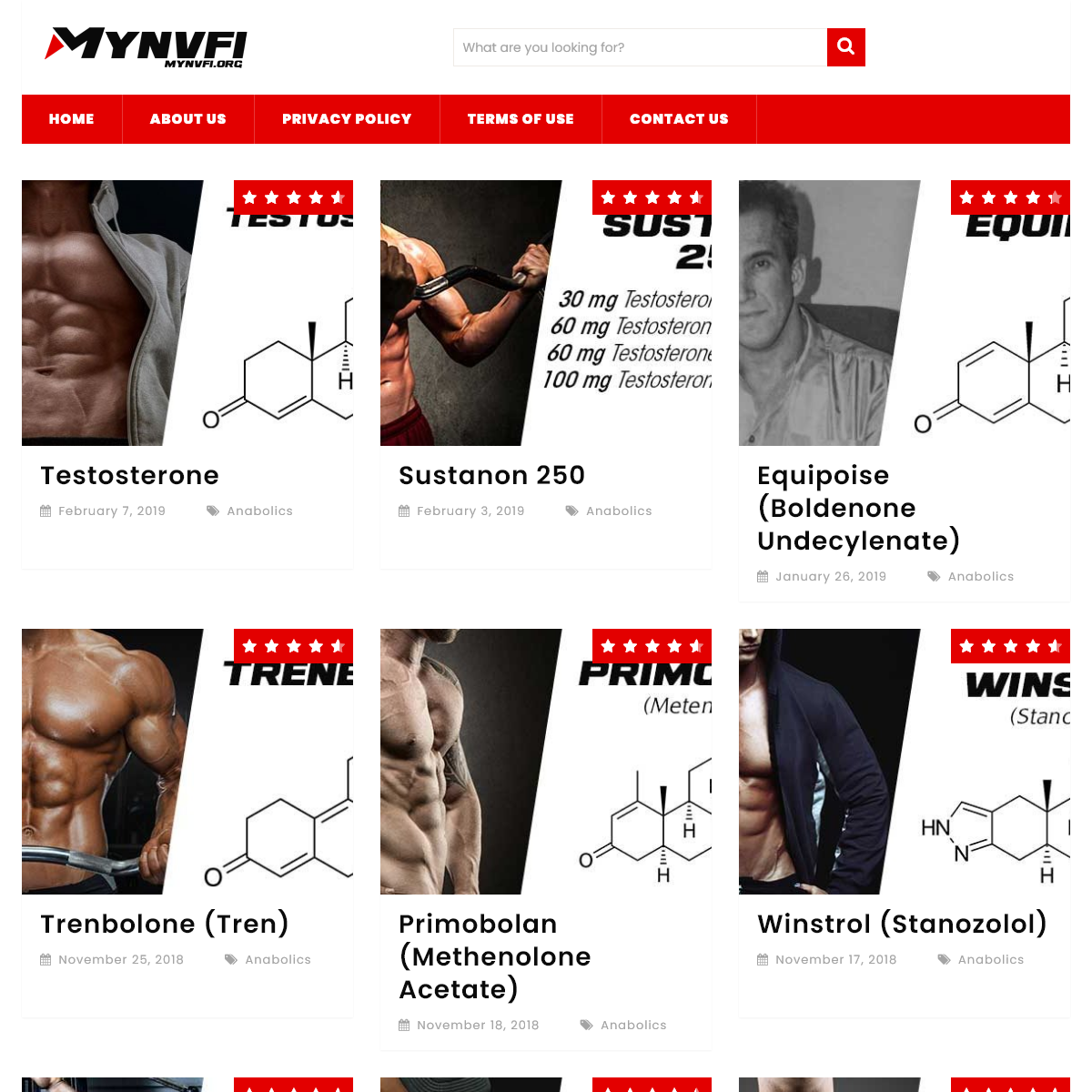 MYNVFI.org - All About SARMS