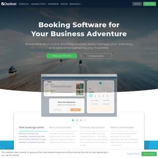 Online Booking Software - Checkfront