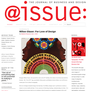 @Issue Journal of Business & Design - by Corporate Design Foundation