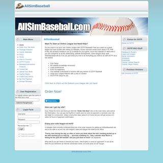 AllSimBaseball
