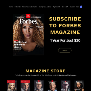 Home - Forbes Magazine
