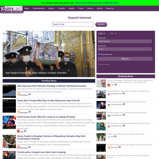 Welcome to the Simcast News portal.