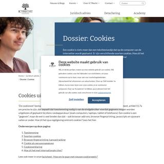 Dossier- Cookies
