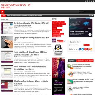Ubuntu-Linux Blog - Up Ubuntu