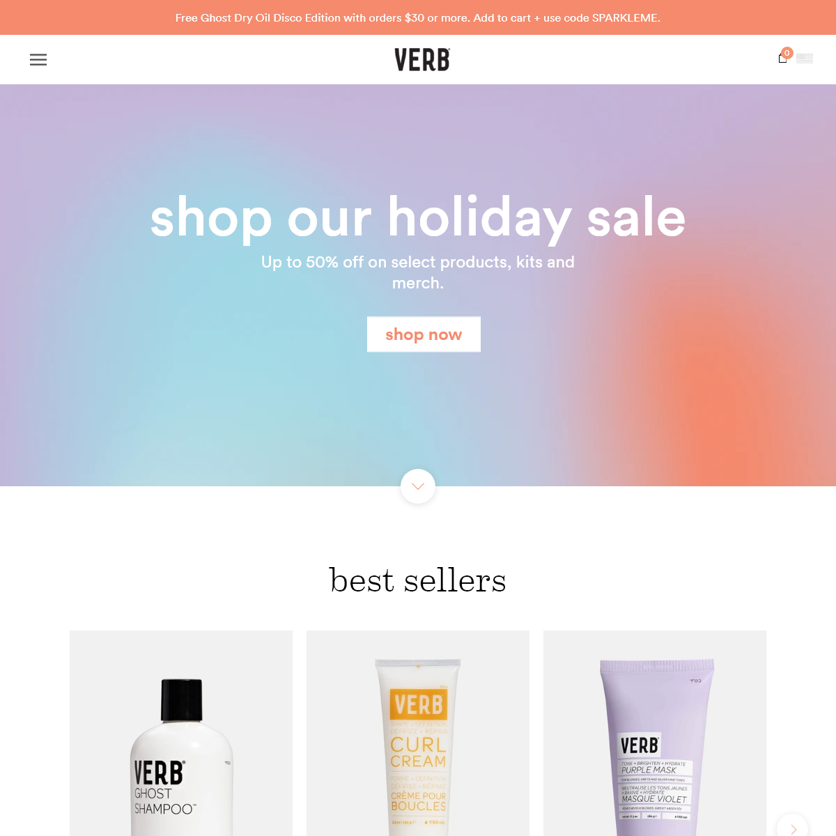 Verb Products - Salon-Quality Hair Care and Styling Tools