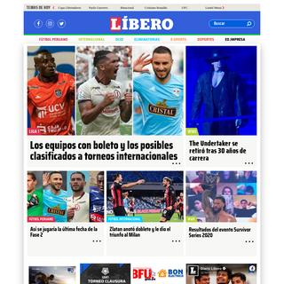 Diario Líbero online – Última hora, noticias del fútbol en Perú y el Mundo