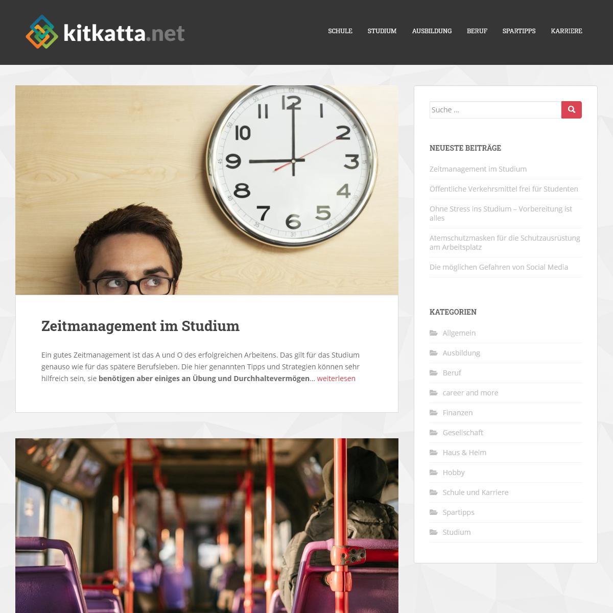 kitkatta.net - Deine Ratgeber- & Blog-Seite