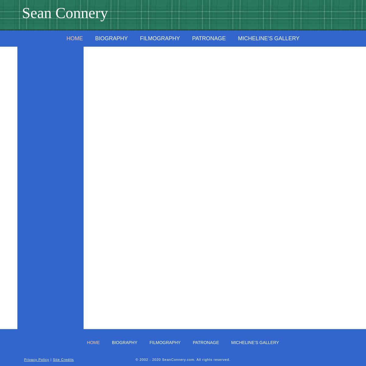 Home - SeanConnery.com