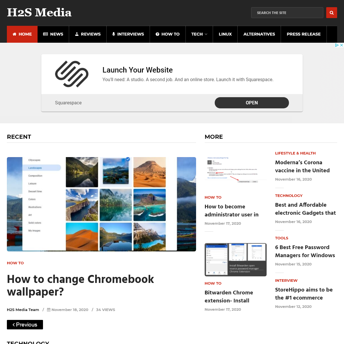 H2S Media- Technology News, Gadgets, Howto, Reviews & More