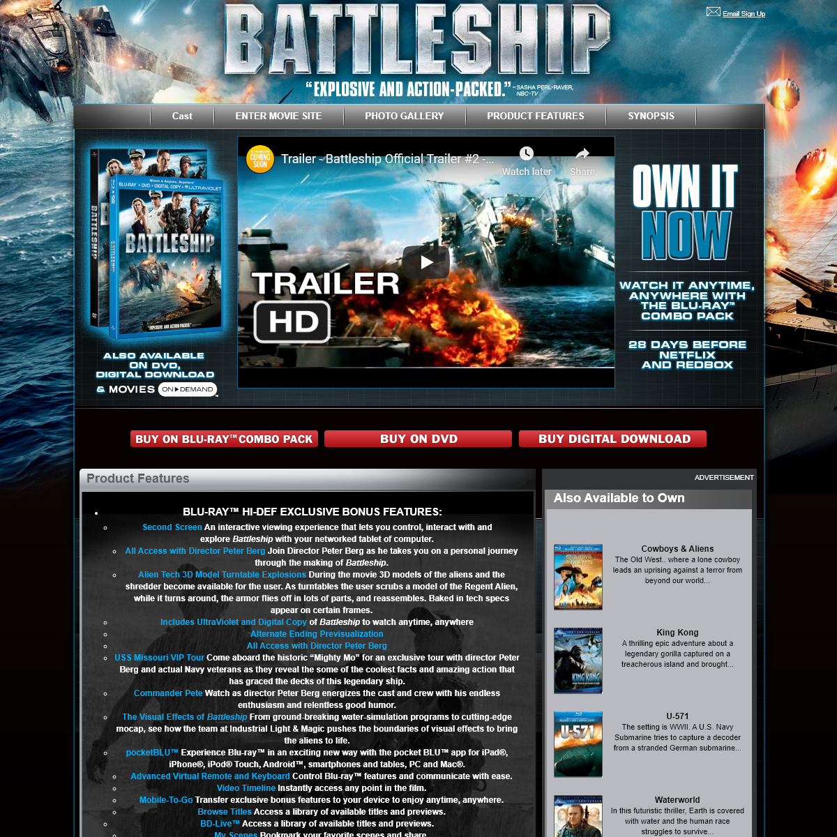 Battleship Movie - Official Site for Battleship - Watch The DVD Trailer, Photos & Pictures, Story, Plot & Previews