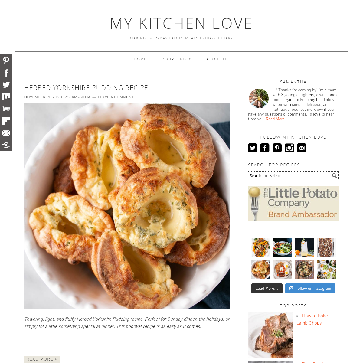 My Kitchen Love - making everyday family meals extraordinary