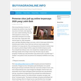 BUYVIAGRAONLINE.INFO - Agen Judi Slot Online Jackpot Terbesar Uang Asli Indonesia